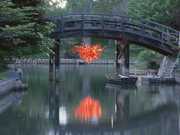 Japanese Bridge Chandelier, 2006