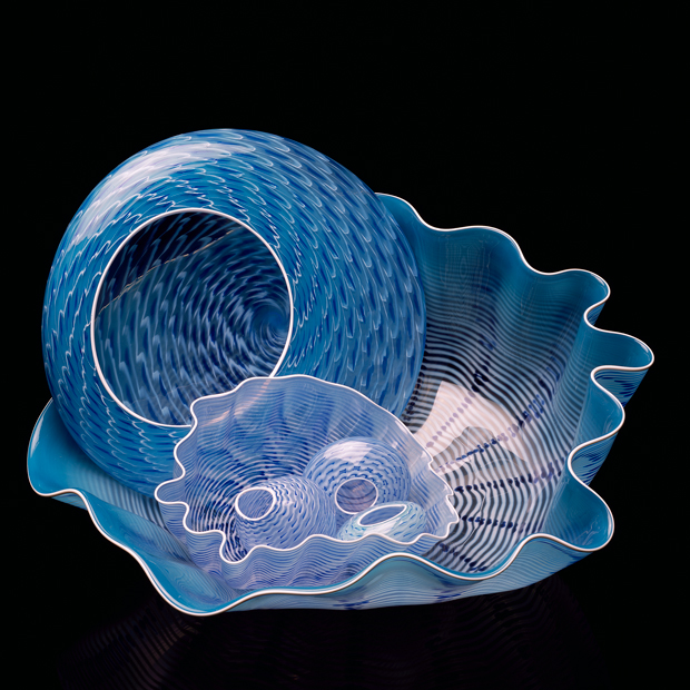 Pale Blue Seaform Set with Astral White Lip Wraps, 2003