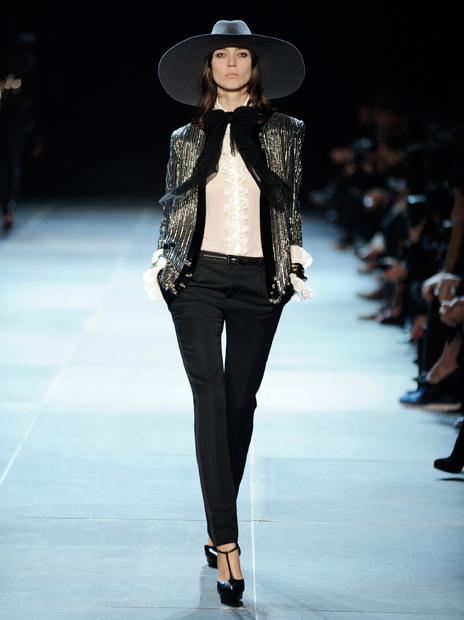 Hedi Slimane, Yves Saint Laurent - Saint Laurent Paris SS 2013 7