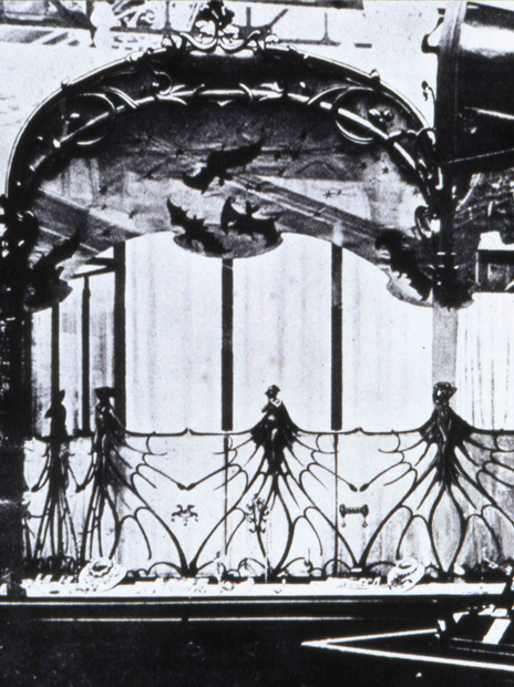 Stand Lalique Exposition 1900  © Lalique SA