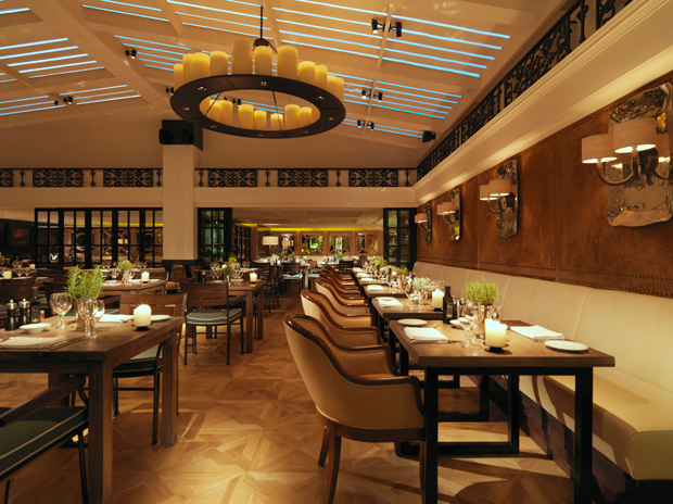 Novikov chinese pan asian and classic italian for Restaurant design london