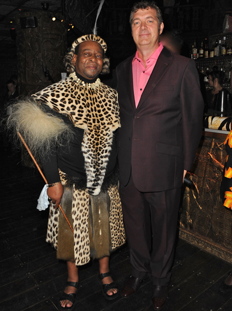 HRH King Goodwill Zwelithini, Roger Payne 6