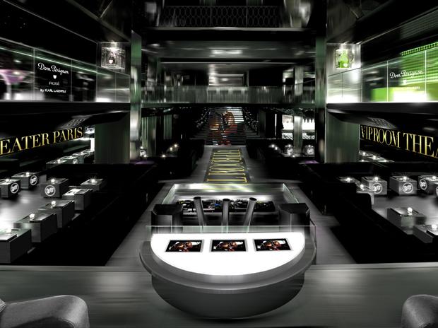 Vip room theater for Design vip chambre mario jean