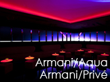 Culture Divine - Armani/Aqua, Italian-Japanese Restaurant - Armani/Privé, Lounge Club - Hong Kong