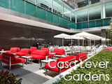 Culture Divine - Casa Lever Gardens, Milanese Outdoor Restaurant-Bar-Lounge - Midtown East