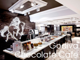 Culture Divine - Godiva Chocolate Cafe, Chocolate Cafe - Knightsbridge