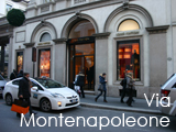 Culture Divine - Via Montenapoleone, Luxury Shopping Street, Milan